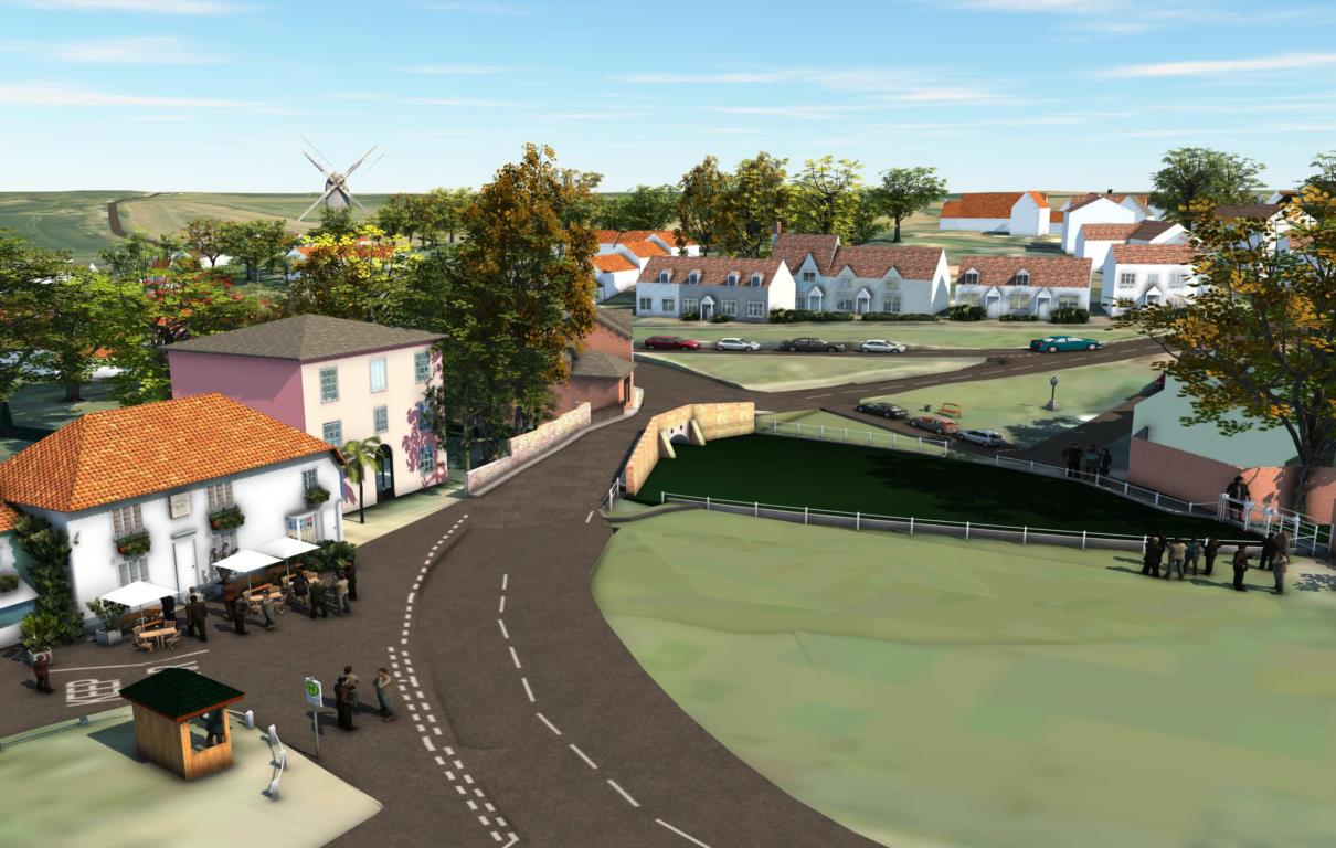 Visualisation of proposed bridge